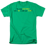 Vegetables Had To Die T-shirts