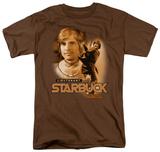 Battle Star Galactica-Starbuck T-Shirts