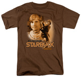 Battle Star Galactica-Starbuck T-Shirt