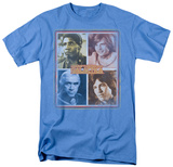 Battle Star Galactica-Characters T-Shirt