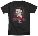 Betty Boop - Classic Kiss T-shirts