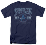 Star Trek-Starfleet Academy Earth T-shirts