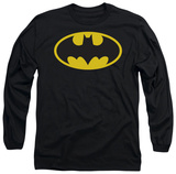Long Sleeve: Batman-Classic Logo T-Shirt