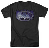 Batman-Cracked Shield T-shirts