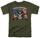 Never Surrender T-shirts