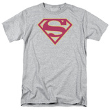 Superman-Red & Gold Shield Shirts