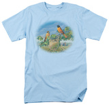 Wildlife - Orioles And Farm T-Shirt