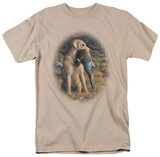 Wildlife - Yellow Lab With Pheasant T-Shirts