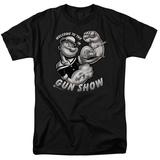 Popeye-Gun Show T-shirts
