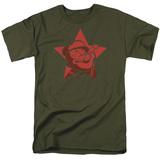 Popeye-Red Star Shirt