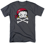 Betty Boop - Pirate T-shirts