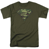Superman-Camo Logo Shirts