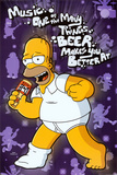 Simpsons - Beer Makes You Better Posters