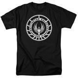 Battle Star Galactica-Galactica Badge T-Shirts