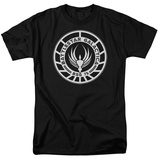 Battle Star Galactica-Galactica Badge T-Shirt