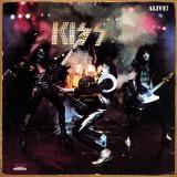 """Kiss- """"Alive"""" Album Cover Plaque en métal"""