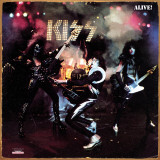 "Kiss- ""Alive"" Album Cover Tin Sign"