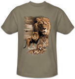 Wildlife-Lion Pride T-Shirt