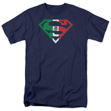 Superman-Mexican Shield T-shirts