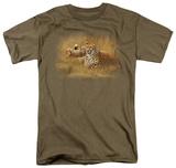 Wildlife - Cheetah Family T-Shirt