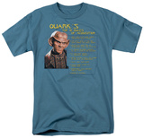 Star Trek-Quark's Rules T-shirts