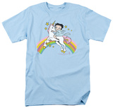 Betty Boop - Unicorn And Rainbows Shirts