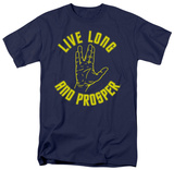Star Trek-Live Long Hand T-shirts