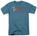 Speed Racer-Checkered Camisetas