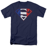 Superman-French Shield T-Shirt