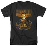 Betty Boop - Rebel Rider Shirts