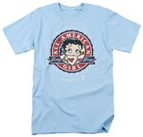 Betty Boop-All American Girl T-shirts