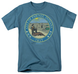 Parks & Rec-Distressed Pawnee Seal Shirt