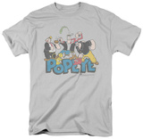 Popeye-The Gang Shirts