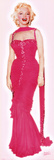Marylin Monroe - Pink Dress Poster