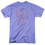Bettie Page-Flowers T-shirts