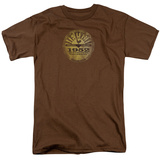 Sun-Sun University Distressed T-shirts