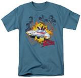 Speed Racer-Blasting The Bad Guys T-Shirt