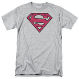 Superman-Red & Black Shield T-Shirt