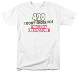 420 Credit Score T-shirts