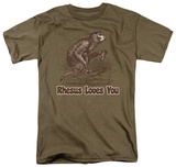 Rhesus Loves You Shirts