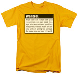Wanted Shirts