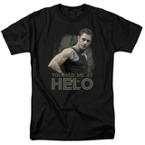 Battle Star Galactica-Had Me At Helo Shirts