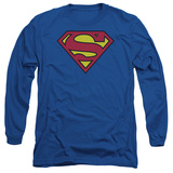 Long Sleeve: Superman-Classic Logo Long Sleeves