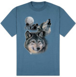 Wildlife-Wolf Howl Shirts