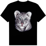 Wildlife-White Tiger Cub Shirt