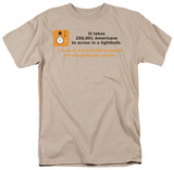 American Lightbulb T-shirts