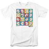 Popeye-Color Block T-Shirt