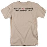 Non-Conformist Oath T-Shirt