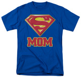 Superman-Super Mom Shirts