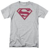 Superman-Crimson & Gray Shield Shirts